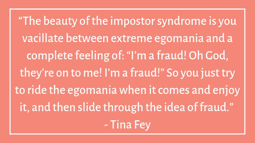This image has an empty alt attribute; its file name is tina-fey-celebrity-quotes-about-imposter-syndrome.png